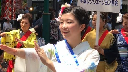湘南平塚七夕まつり 織り姫