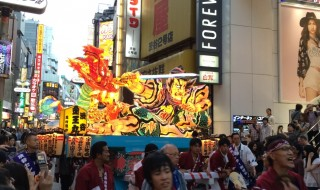 渋谷センター街ねぶた祭り2014