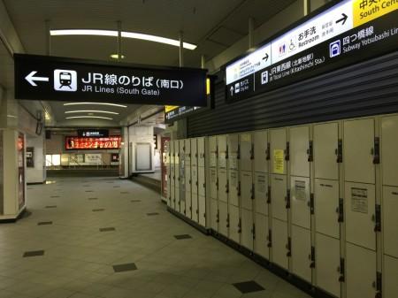 大阪駅のコインロッカー