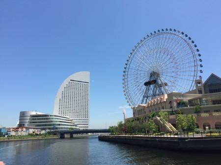 横浜の運河