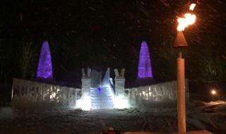 星野リゾートトマムの氷の教会