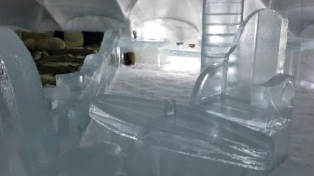星野リゾートトマムの氷のホテル