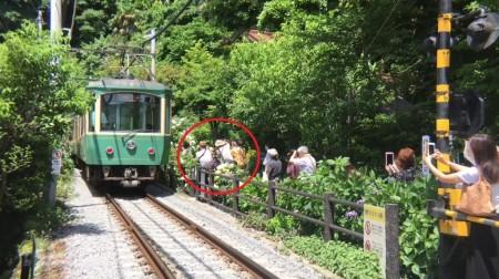 鎌倉御霊神社と江ノ電