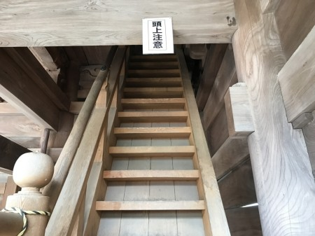 鎌倉光明寺の山門の階段