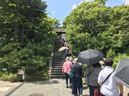 鎌倉 東慶寺の山門