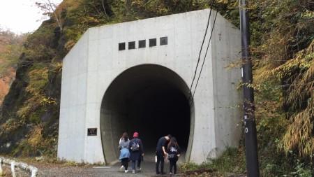 ユーシン渓谷 新青崩隧道