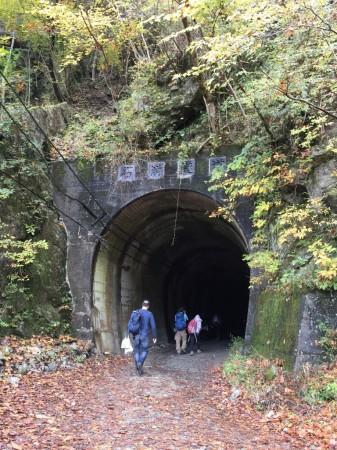 ユーシン渓谷 石崩隧道