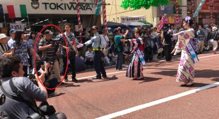湘南平塚七夕まつり 千人パレード
