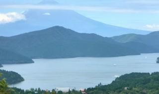 箱根の富士見峠から富士山