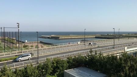 三井ガーデンホテルプラナ東京ベイ 廊下からの眺め