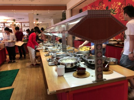 三井ガーデンホテルプラナ東京ベイ 朝食ビュッフェ