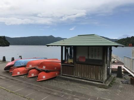 芦ノ湖と富士山撮影スポット