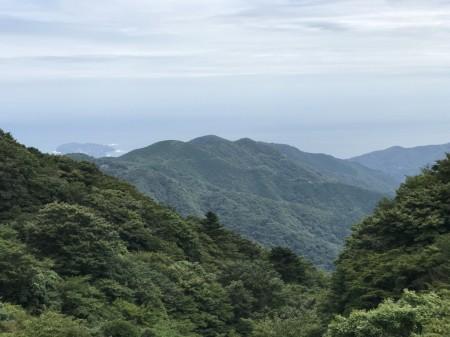 箱根の富士見峠