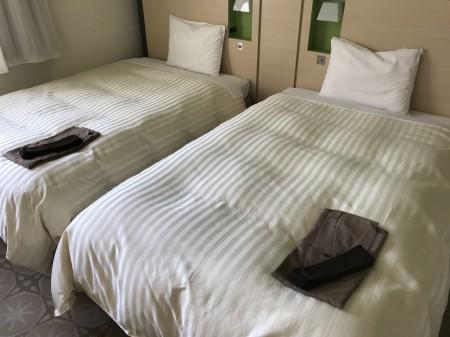 三井ガーデンホテルプラナ東京ベイのベッド
