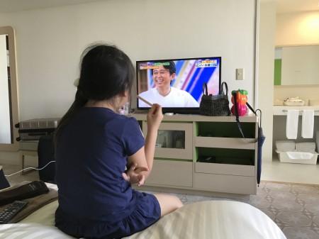 三井ガーデンホテルプラナ東京ベイ 客室テレビ