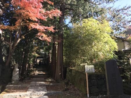 建長寺 半僧坊への道