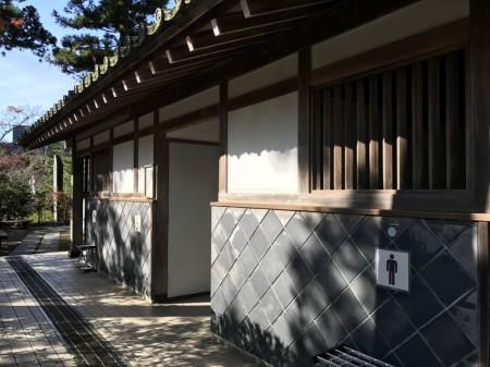 建長寺のトイレ