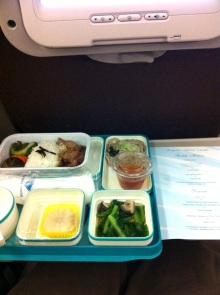 ガルーダインドネシア航空の機内食